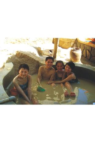 广西桂林深海泥浆温泉