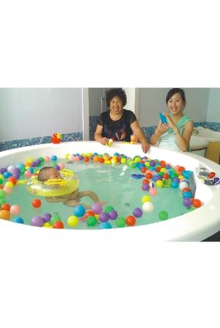 湖南衡阳巴布婴儿会所游泳池