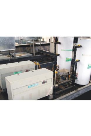商用热水-采暖炉施工现场